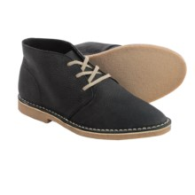 Seavees 12/67 Leather Chukka Boots (For Men) in Thunder Tumbled Leather - Closeouts