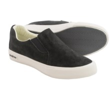 SeaVees Hawthorne Riv Sneakers - Slip-Ons (For Men) in Blacktop - Closeouts