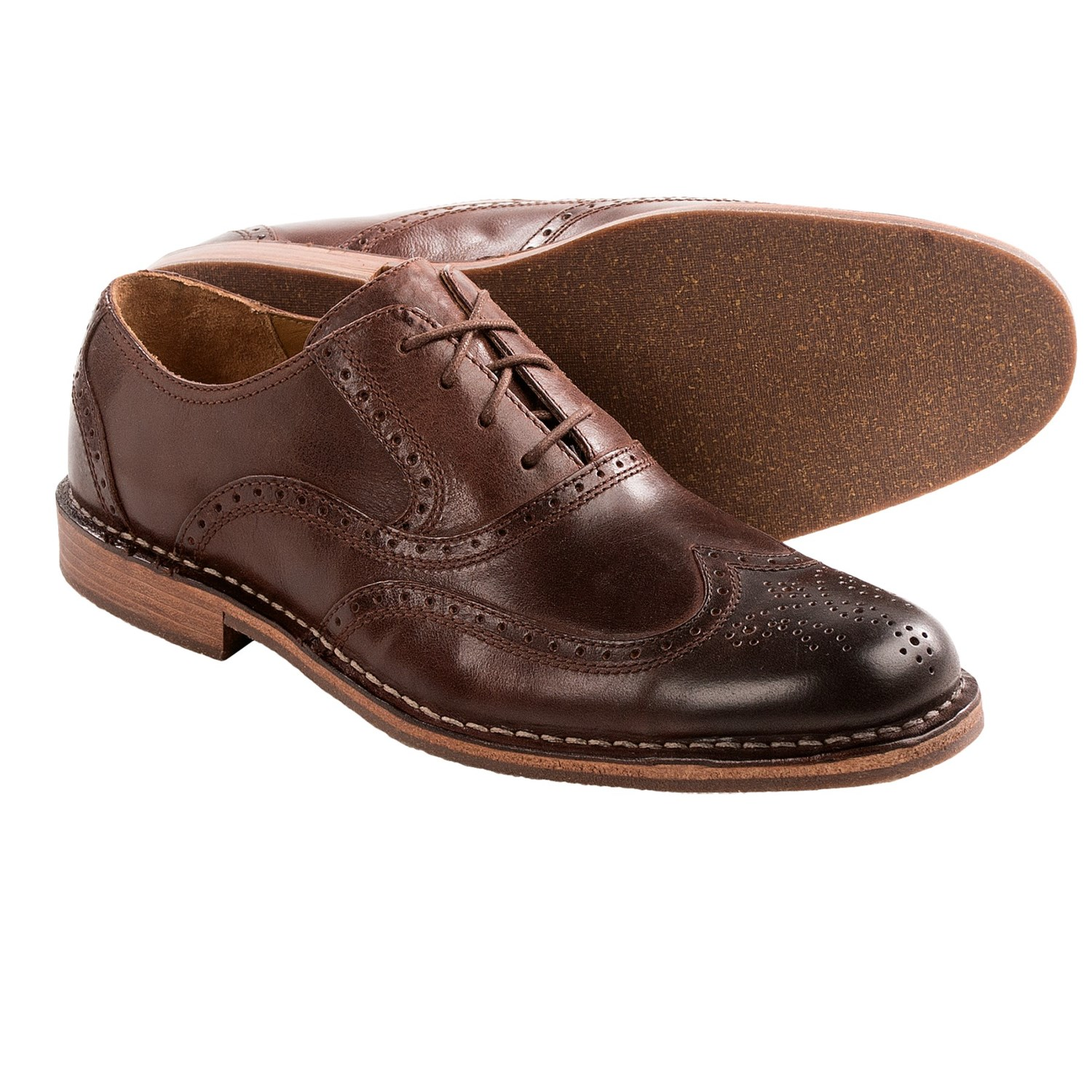 sebago brattle ii leather wingtip shoes for save 58