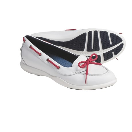 Sebago Calypso Bow Shoes (For Women) in White