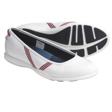 Sebago Calypso Skimmer Shoes - Leather (For Women) in White - Closeouts