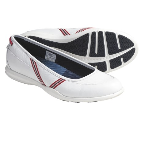 Sebago Calypso Skimmer Shoes - Leather (For Women) in White