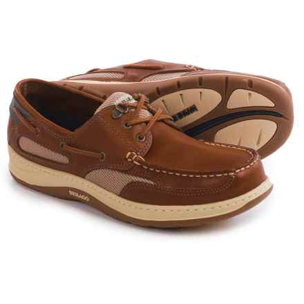 Sebago Clovehitch II Boat Shoes (For Men) in Amber Gold - Closeouts