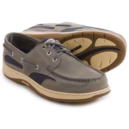 Sebago Clovehitch II Boat Shoes (For Men) in Grey Nubuck - Closeouts