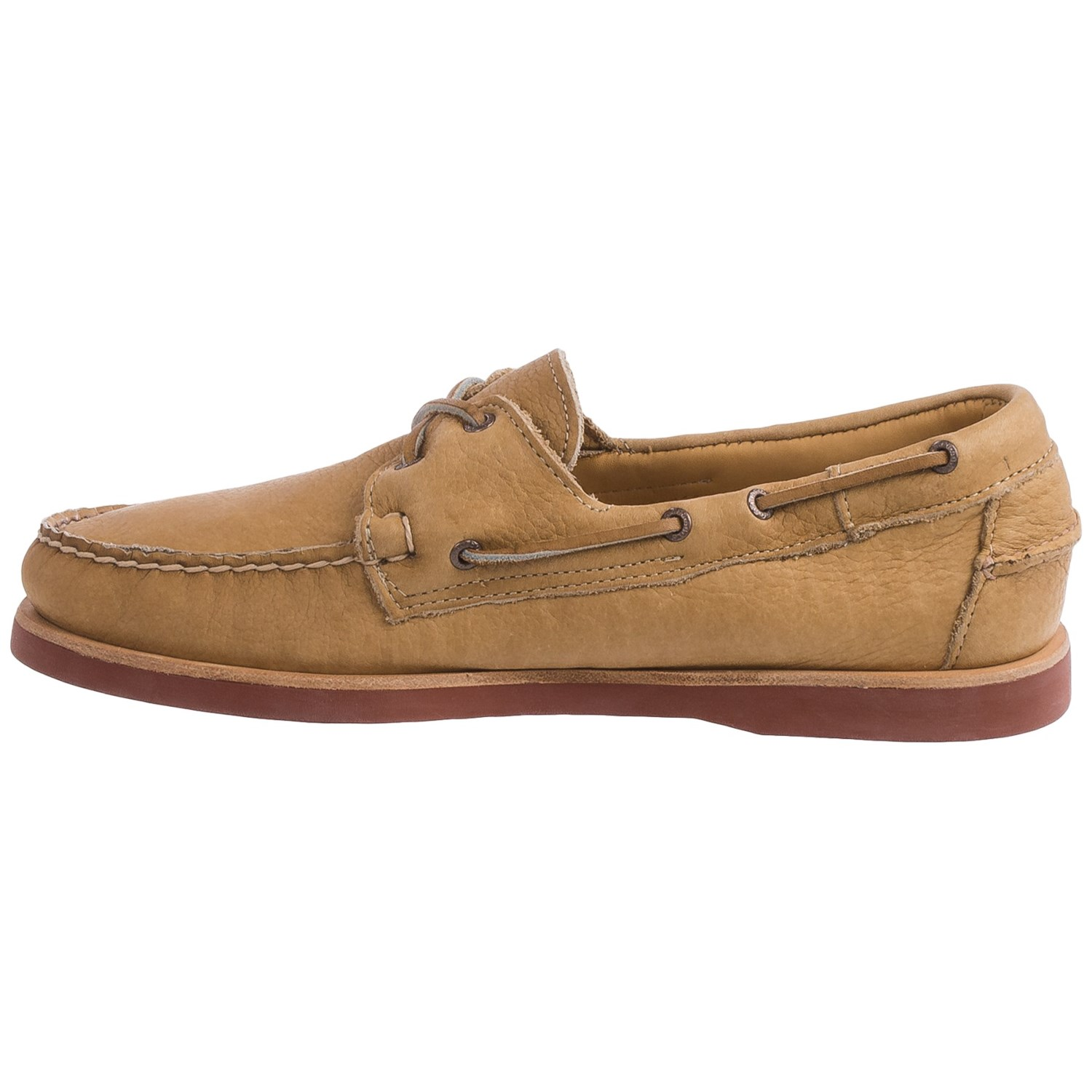 Bison Leather Oxford Shoes