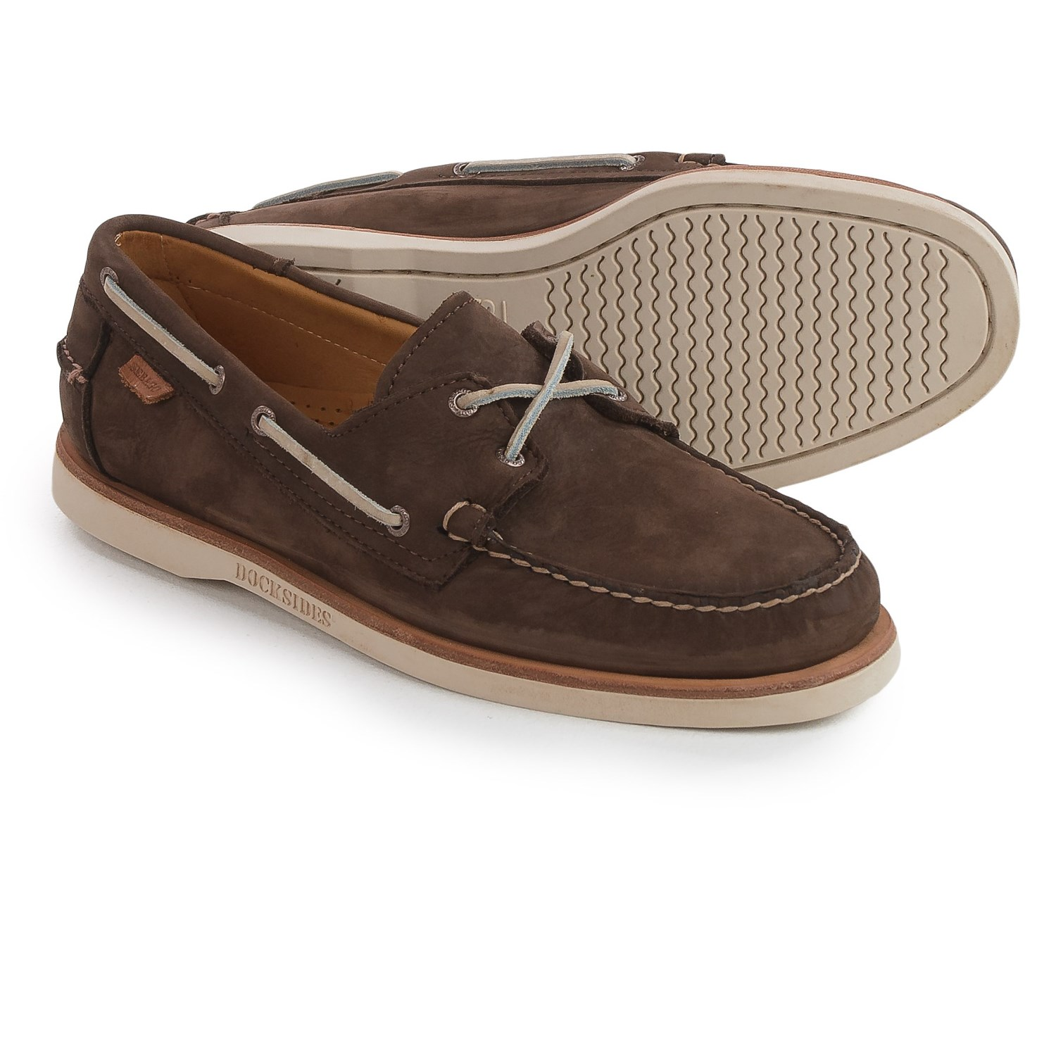 Sebago DOCKSIDES - Boat shoes - dark brown 3xWTQan