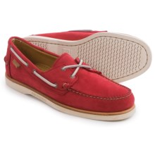 Sebago Crest Docksides® Boat Shoes (For Men) in Red Nubuck - Closeouts