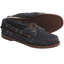 Sebago Docksides Boat Shoes - Leather (For Women) in Mariner Navy - Closeouts