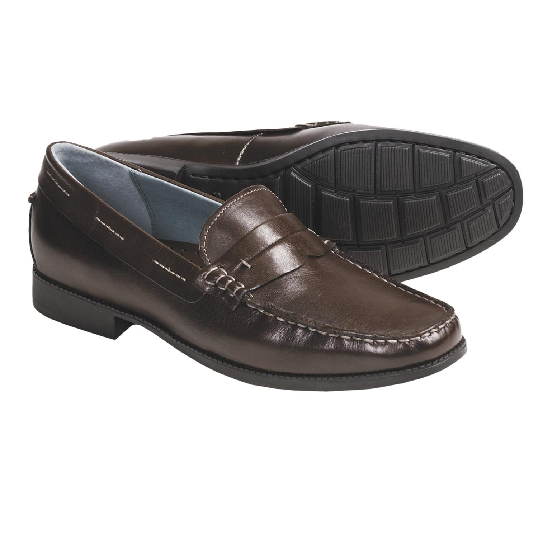 Sebago Halifax Strap Loafer Shoes (For Women) in Dark Brown