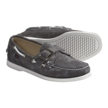 Sebago Harthaven Boat Shoes - Leather (For Women) in Grey - Closeouts