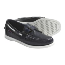 Sebago Harthaven Boat Shoes - Leather (For Women) in True Navy - Closeouts