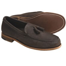 Sebago Kerry Tassel Moccasin Shoes - Leather (For Men) in Dark Brown - Closeouts
