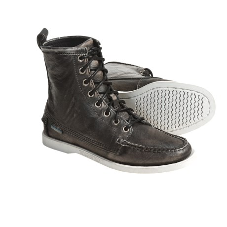 Sebago Lighthouse Boots (For Women) in Dark Brown