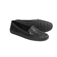 Sebago Lucerne Moccasin Shoes - Slip-Ons (For Women) in Black Leather - Closeouts