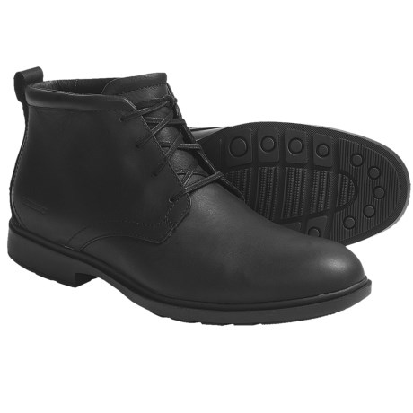 Sebago Marquette Boots - Leather (For Men) in Black