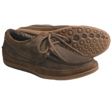 Sebago Mather Boat Shoes - Leather, Two Eye (For Men) in Tan - Closeouts
