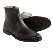 Sebago Metro Leather Boots (For Men) in Black Leather - Closeouts