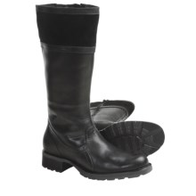 Sebago Saranac High Boots - Waterproof, Leather (For Women) in Black - Closeouts