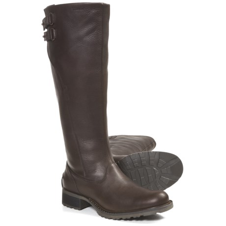 Sebago Saranac Rider Boots (For Women) in Espresso
