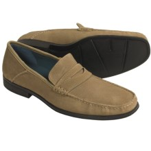 Sebago Sussex Classic Shoes - Penny Loafers (For Men) in Taupe Suede - Closeouts
