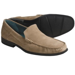 Sebago Sussex Moccasin Shoes - Suede (For Men) in Taupe Suede