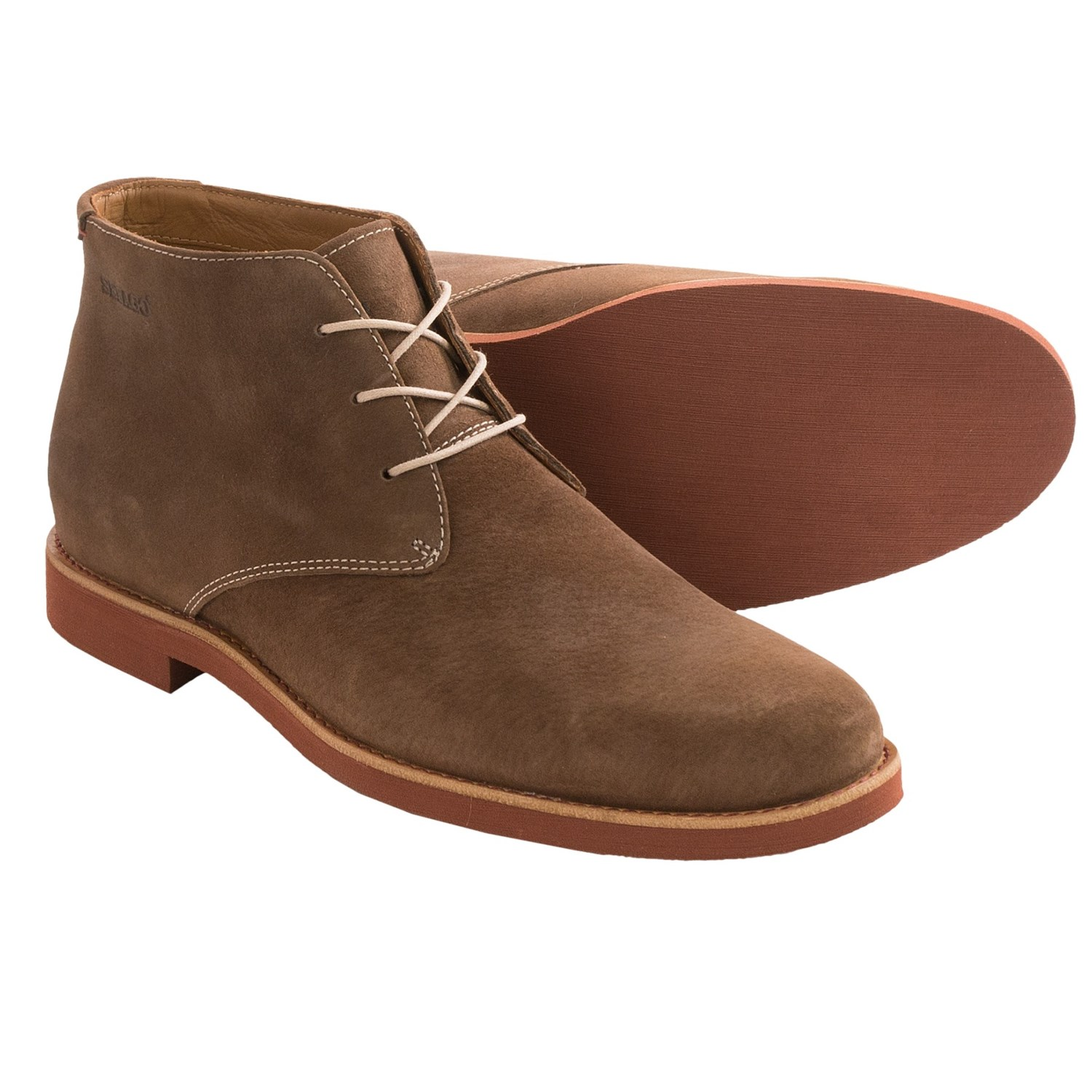Men's chukka boots are made with the fashionable gentleman in mind. They are open-laced ankle boots with rubber or leather soles, and you can find great pairs at the best price right here.