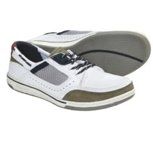 Sebago Triton Sport Shoes - Lace-Ups (For Men) in White/Dark Grey - Closeouts