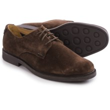 Sebago Turner Lace-Up Oxford Shoes - Leather (For Men) in Brown Suede - Closeouts