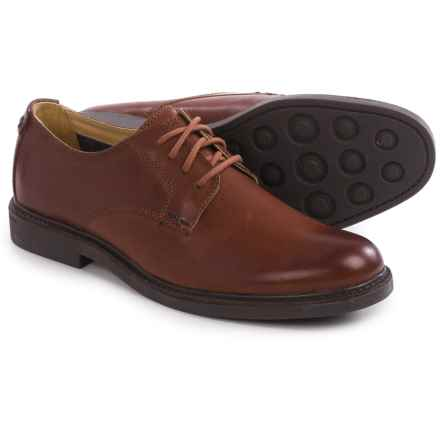 Sebago Turner Lace-Up Oxford Shoes - Leather (For Men) in Chestnut Leather - Closeouts