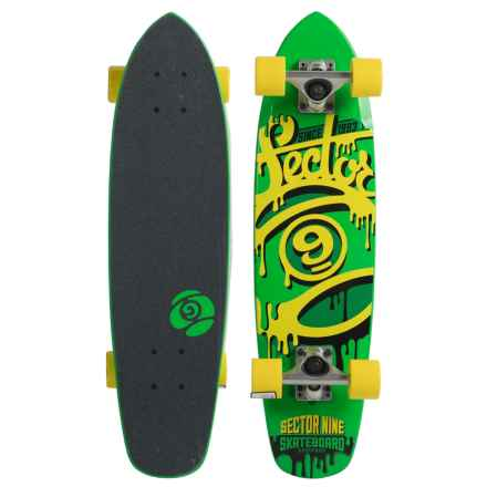 Sector 9 Ninety Five Skateboard in Green - Closeouts