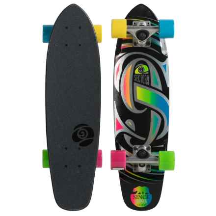 Sector 9 Steady Skateboard in Black - Closeouts