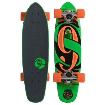 Sector 9 Steady Skateboard in Green - Closeouts
