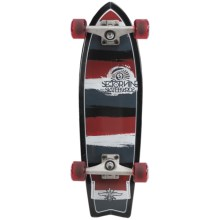 "Sector 9 Twin 28 Complete Mini Longboard - 8x27.5"" in Red - Closeouts"