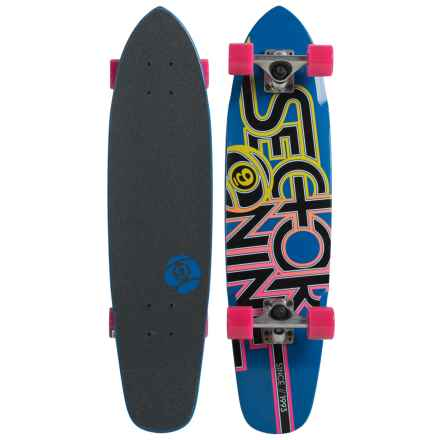 Sector 9 Wedge Skateboard in Blue - Closeouts