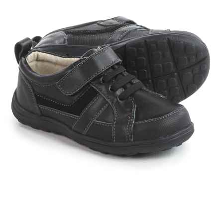 See Kai Run Anton Shoes (For Toddlers and Little Boys) in Black - Closeouts