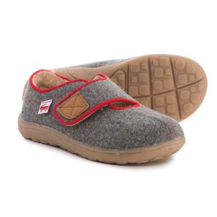 See Kai Run Cruz Slippers (For Boys) in Gray - Closeouts