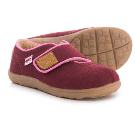 See Kai Run Cruz Slippers (For Girls) in Berry - Closeouts