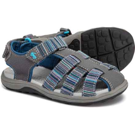 See Kai Run Cyrus Webbing Sports Sandals (For Boys) in Gray