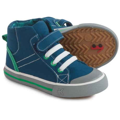See Kai Run Dane Sneakers - Fleece Lined (For Little and Big Boys) in Navy