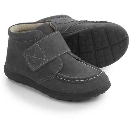 See Kai Run Desmond Boots - Suede (For Toddlers and Little Boys) in Gray - Closeouts