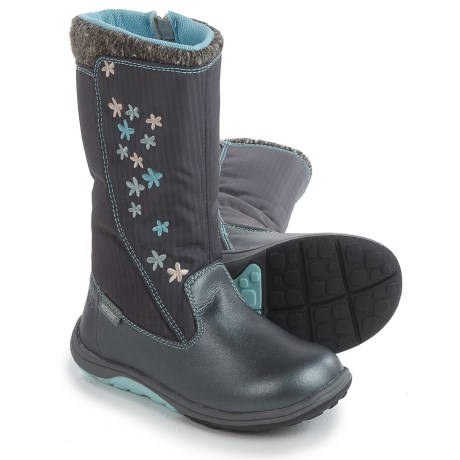 See Kai Run Hallie Boots - Waterproof (For Little and Big Girls) in Dark Gray