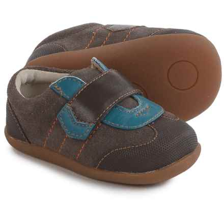 See Kai Run Kanoa Shoes - Suede (For Infants and Toddler Boys) in Brown - Closeouts