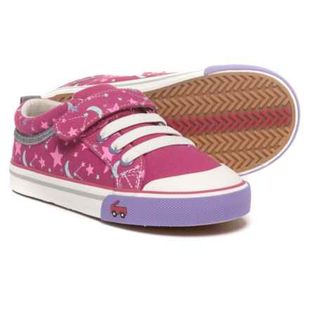 See Kai Run Kristin Sneakers (For Girls) in Berry/Stars - Closeouts