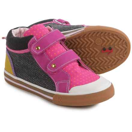 See Kai Run Kya Sneakers (For Little and Big Girls) in Hot Pink/Gray/Berry - Closeouts