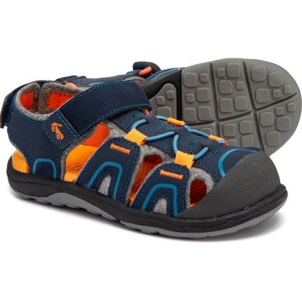 5a503834504c See Kai Run Lincoln III Sandals (For Little and Big Boys) in Blue -