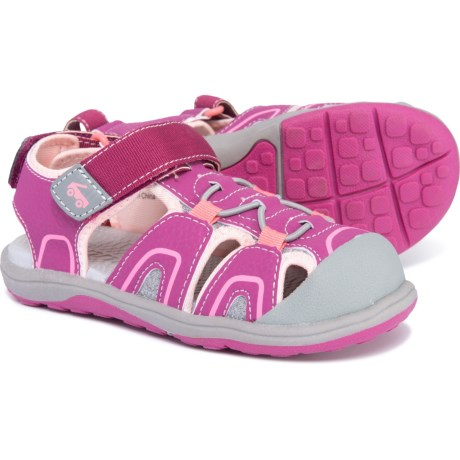 See Kai Run Lincoln III Sandals (For Toddler and Little Girls) in Magenta 7f4fd21b8