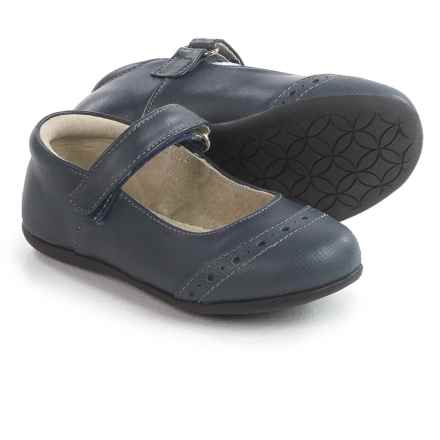 See Kai Run Meredith Shoes (For Toddlers and Little Girls) in Navy - Closeouts