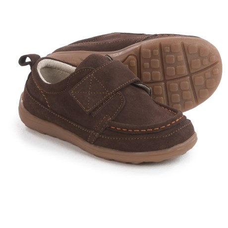See Kai Run Ross Shoes - Suede (For Toddlers and Little Boys) in Brown