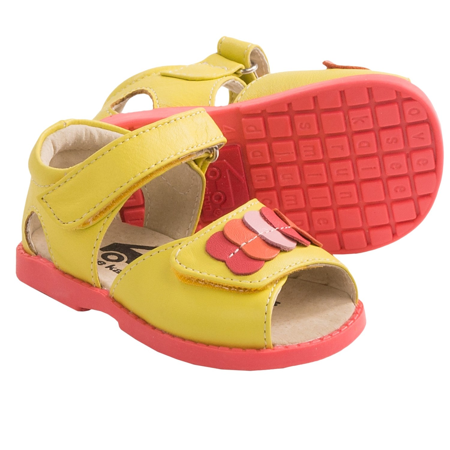 Yellow Toddler Sandals Baby Early