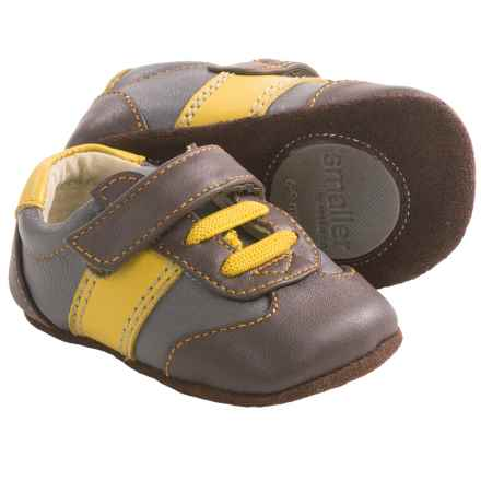 See Kai Run Smaller by  Owen Shoes - Leather (For Infants) in Brown - Closeouts